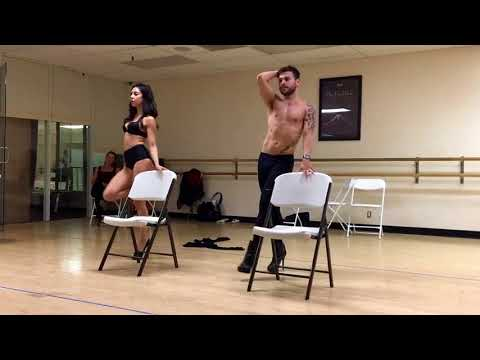Lights on by H.E.R. (Heels Dance class) choreography by Esteban Deleon