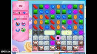 Candy Crush Level 438 Audio Talkthrough, 3 Stars 0 Boosters