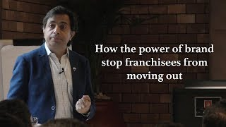 Franchise Management Series by(How the power of brand stop franchisees)