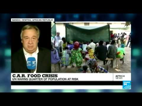 Central African Republic: UN warns quarter of population threatened by food crisis