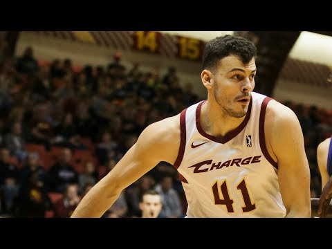 Ante Zizic goes off for 21 points & 17 rebounds vs. Westchester Knicks