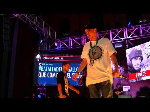 Soid Vs Errece Octavos - Redbull Batalla de los Gallos Bilbao -2014- - HD
