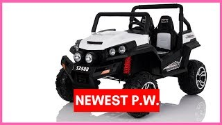 Power Wheels 2 Seater Newest 4X4 Big 12V UTV For Kids