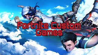 Fortnite| Custom Games With Prices|2x 500 Emote Gift|2x10 psc Giveaways|95+| SagZiro176