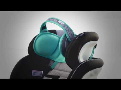 NapUp Child Car Seat Head Support - A Comfortable Safe Sleep Solution