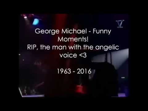 🎼GEORGE MICHAEL FUNNY MOMENTS ❤