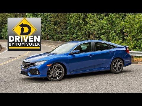 2017 Honda Civic Si Sedan Car Review