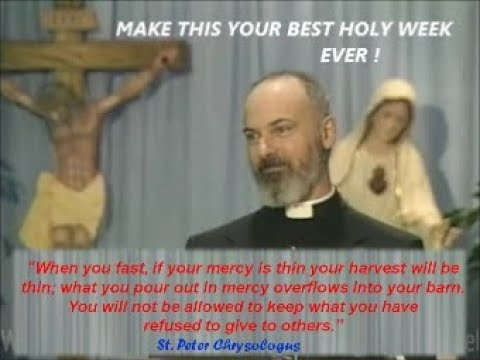 MAKE THIS YOUR BEST HOLY WEEK EVER !