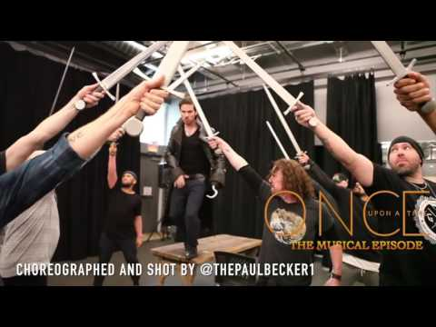 Once Upon a Time Musical Episode Colin O´donoghue  Hook Choreography