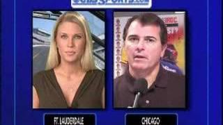 CBS Sports NASCAR Report 8/22