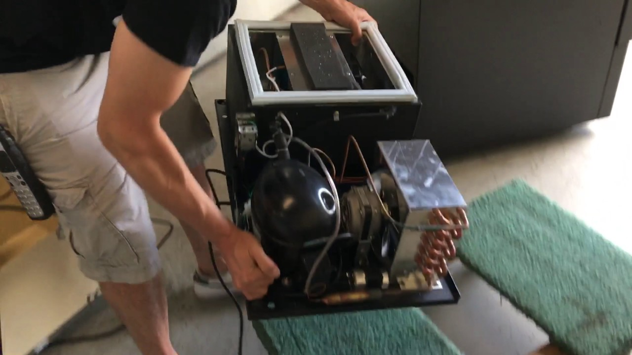 How To Remove And Change Compressor Deck Cooling Unit