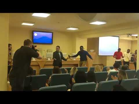African day presentation Dance South Ural State University Chelyabinsk Russia 2018