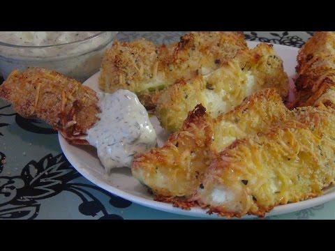 Кабачки в сырной