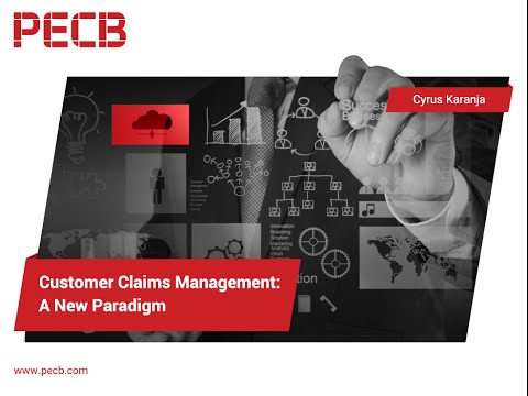 Customer Claims Management:  A New Paradigm