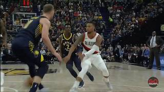 Portland Trail Blazers vs Indiana Pacers - Blazer Highlights - October 20, 2017