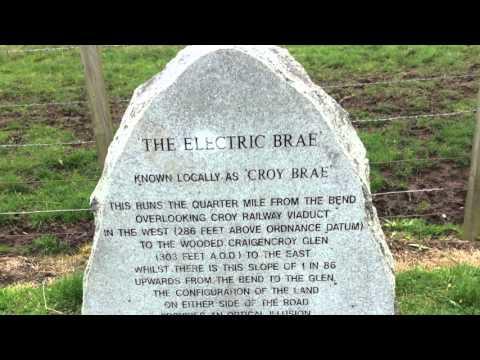 The Electric Brae, Ayrshire Scotland
