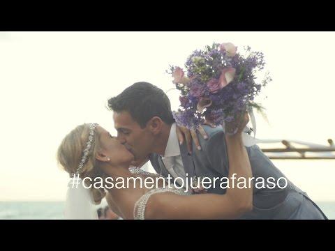 Trailer Julia e Rafael - Casamento na praia - 4K - Agência Uai