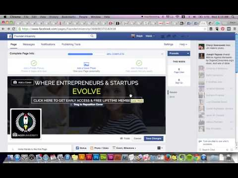 How To Add A Call To Action To Your Facebook Cover Photo