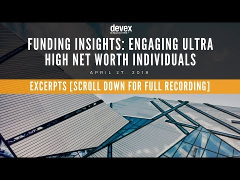 EXCERPT: Engaging Ultra High Net Worth Individuals