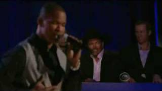 Jamie Foxx Singing at the CBS George Strait Special
