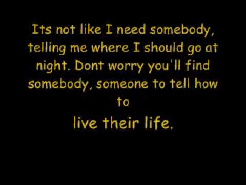 The Veronicas - Everything Im Not - Lyrics.wmv