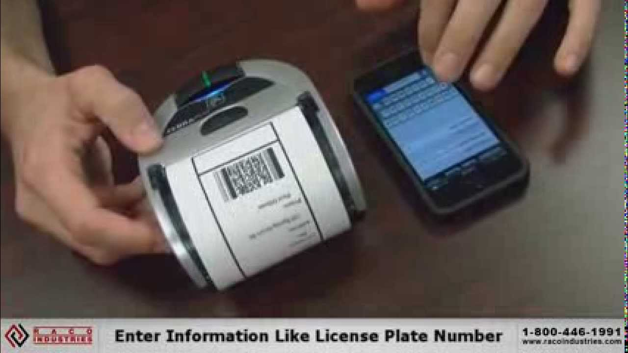 Printing Receipts From Iphone With Zebra Imz Printer Youtube