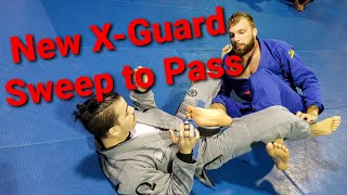 """New X-Guard"" Sweep to Pass sequence Toro BJJ Move of the Week"