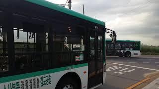 하이거 하이퍼스 경기부천 3번버스 오쇠삼거리 교행