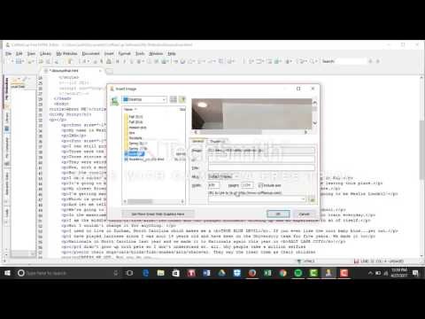 CoffeeCup HTML Editor Tutorial