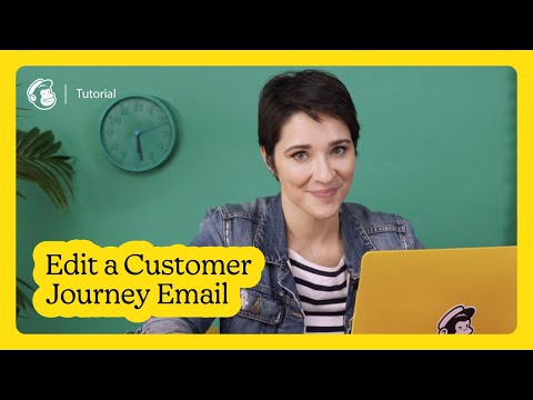 Edit an Email in Mailchimp's Customer Journey Builder (March 2021)