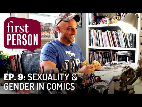 Sexuality & Gender in Comics   First Person #9   PBS Digital Studios