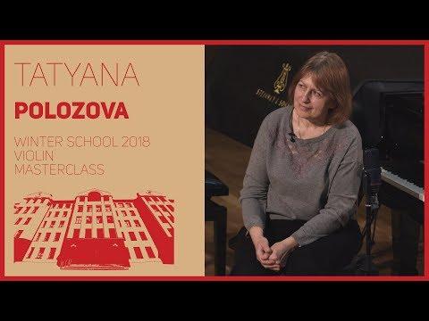 Violin / Masterclass / T. Polozova | Скрипка / Мастер-класс / Т.А. Полозова | 2/2