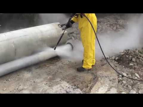 Cleaning Stainless Steel Pipes