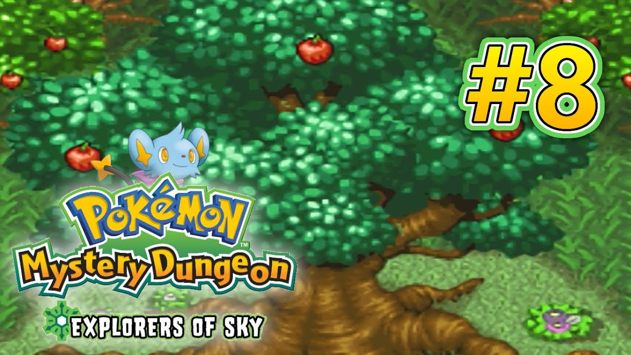 Pokemon Mystery Dungeon Explorers Of Sky Walkthrough Part 8