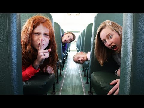 Hide and Seek on a School Bus Challenge