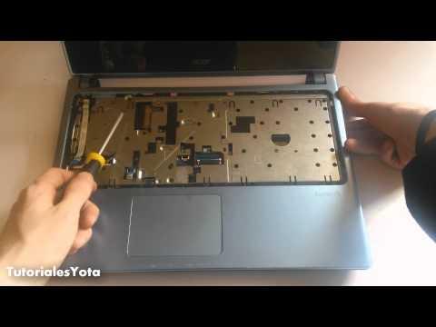 Como Desmontar (Desarmar) Acer |Aspire | v5 | 471p