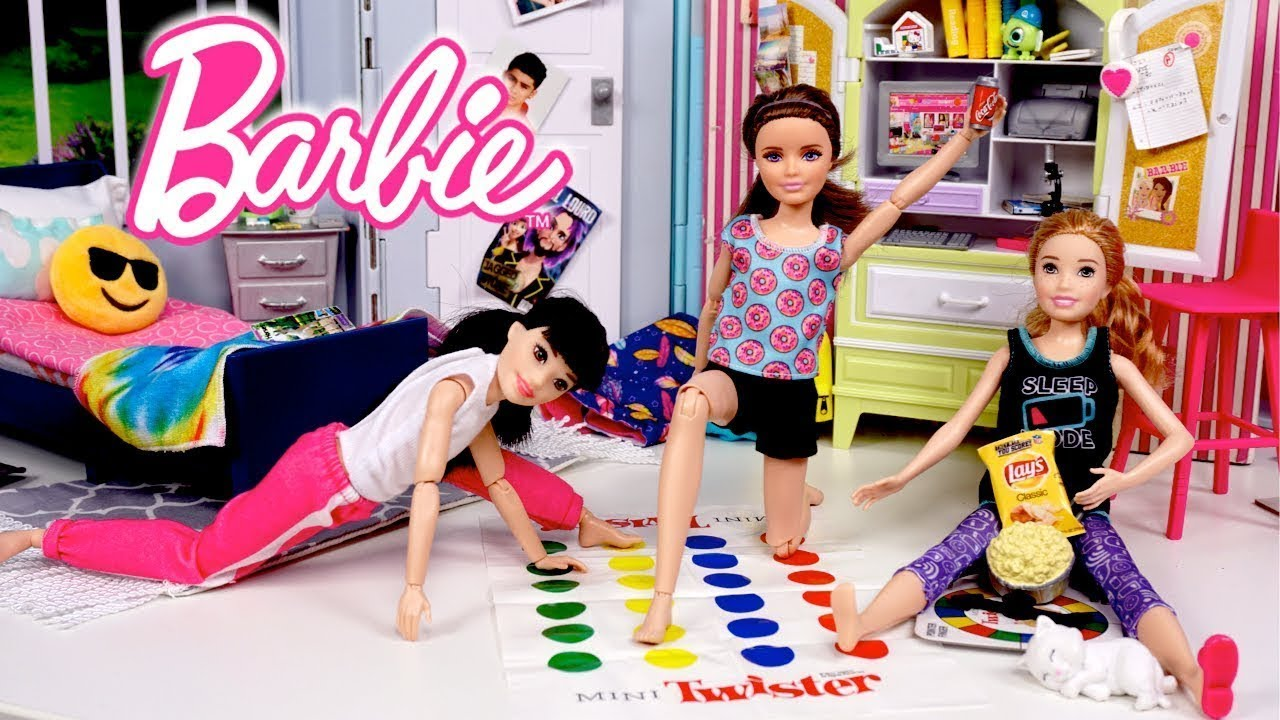 Download Barbie Dolls School Morning & Night Routine and Sleepover