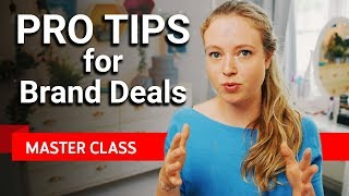 Mistakes to Avoid with Brand Deals | Master Class #4 ft. Klein aber Hannah