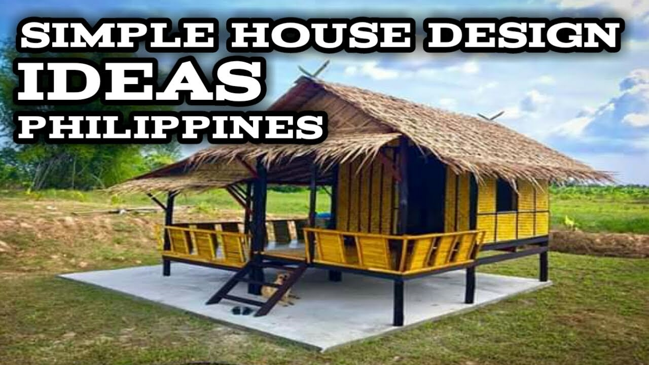 20 SIMPLE HOUSE DESIGN IDEAS IN THE PHILIPPINES