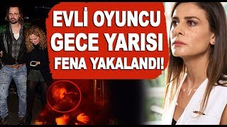 Evli oyuncu Ertan Saban'nın skandal gecesi! Muhabirin üzerine yürüdü!!