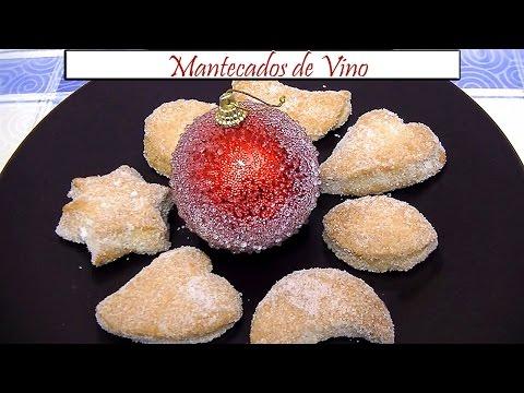 Mantecados de Vino | Receta de Cocina en Familia