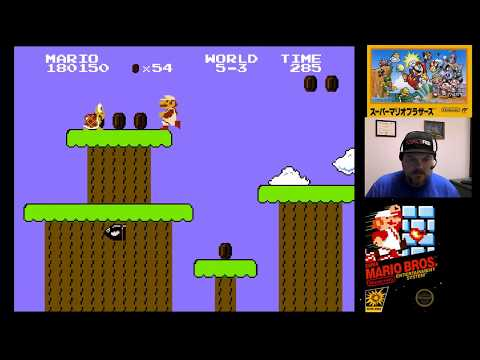 NES Classic - Super Mario Bros. (part 3) | VGHI Play 'n' Chat Live Stream