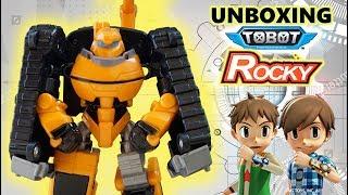 Unboxing Mainan Tobot Rocky | Mainan Anak Mobil Robot | Tobot Bahasa Indonesia