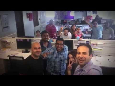 Yahoo Middel East editorial team farwell