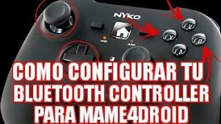 [Configuración De Bluetooth Controler] Para Mame4droid