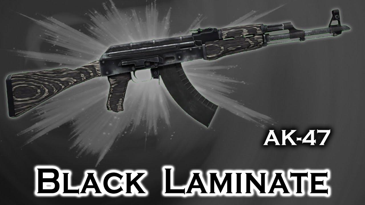 Black Laminate Ak 47 Stattrak Stickers Skin Preview Fn Mw Ft Ww Bs Cs Go Youtube