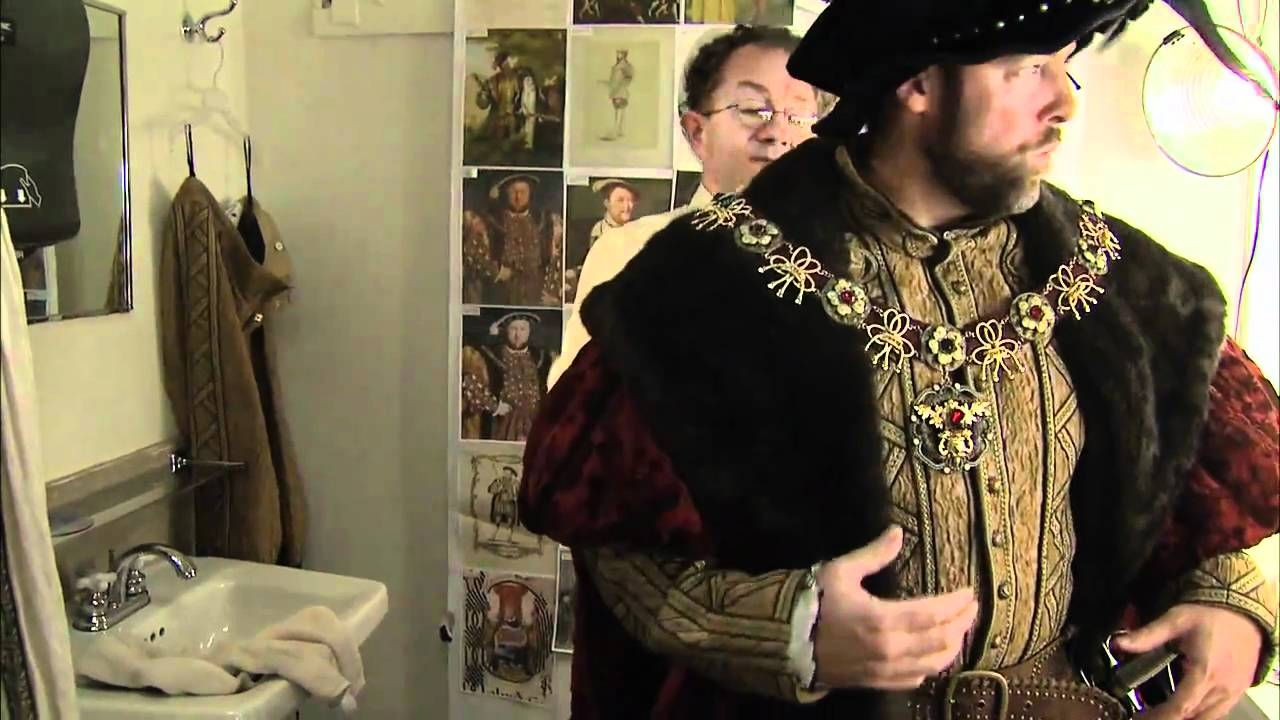 Dressing the Tudors: A Video Tour of Putting on Clothes
