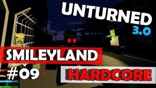 Unturned 3.0 (HardCore) - Tentando Sobreviver a Noite de Lua Cheia! #09 SmileyLand