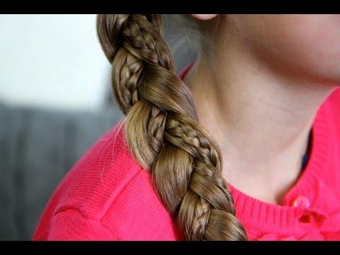 simple braid with micro-braids