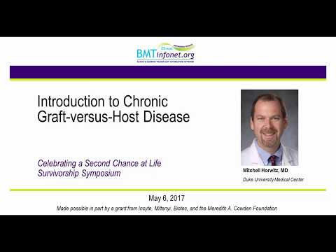 Introduction to Chronic Graft versus Host Disease